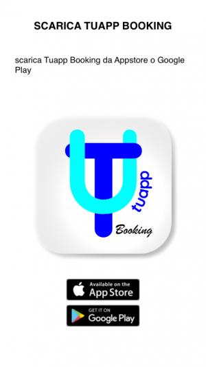 1 - scarica Tuapp Booking da Appstore o Playstore